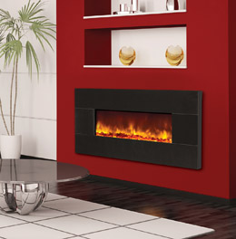 electric fireplaces - built in and zero clearance