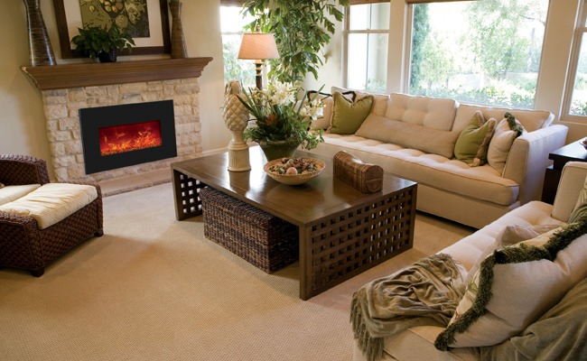 Electric Fireplace insert - medium insert - 30 inches wide